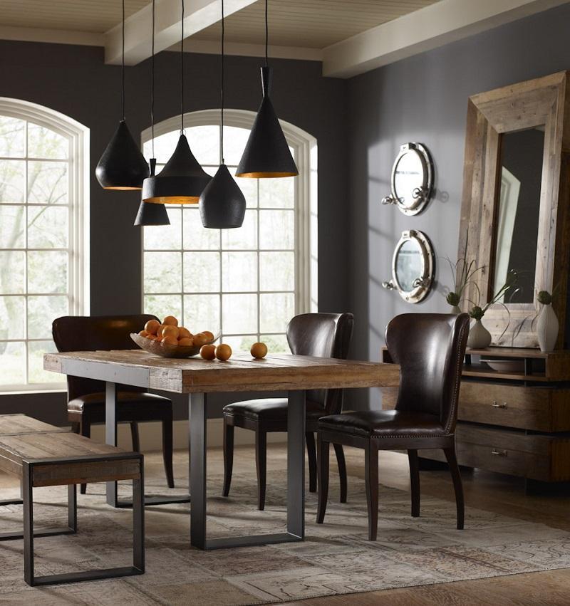 Claves para iluminar una mesa comedor