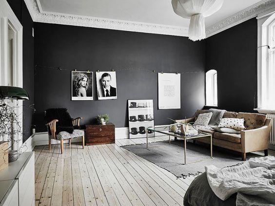decorar con negro