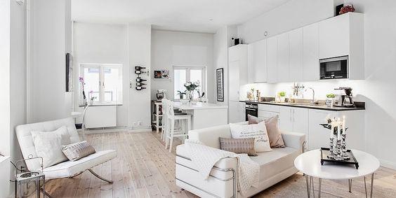 Ampliar tu casa. Colores claros