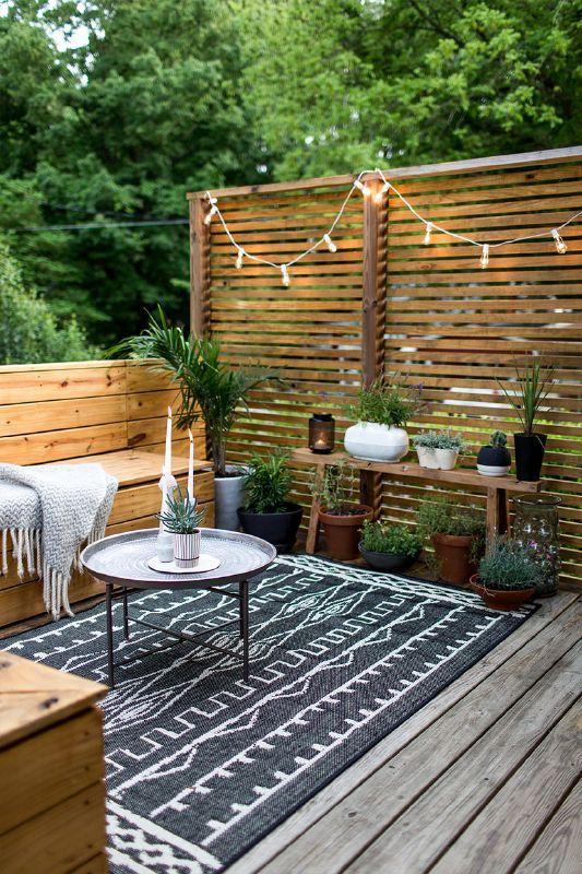 mueble de terraza o jardín en Salamanca