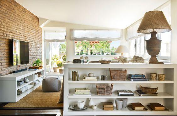 Ampliar tu casa. Más muebles y menos tabiques